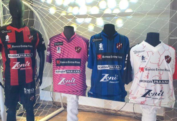 Resultado de imagen para indumentaria que lucirá el Club Atlético Patronato