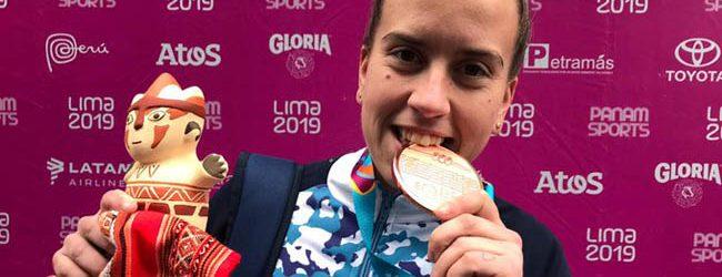 Melina Spahn: «Ser doble medalla en mi primer Panamericano es increíble»