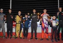 El Karting Entrerriano definió dos campeones bajo la lluvia
