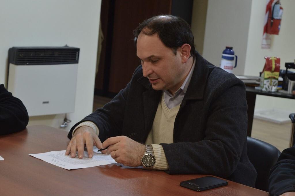 Federico Borrás, Presidente Echagüe