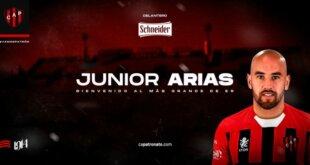 Fin de la novela: Junior Arias jugará en Patronato
