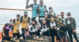 Beach vóley: Gallay y Azaad campeones en Chapadmalal
