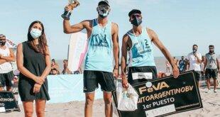 Con su compañero, Nicolás Capogrosso, el cerritense Julián Azaad obtuvo en Chapadmalal la consagración en el inicio de la competencia. El torneo continuará el próximo fin de semana en Pinamar.