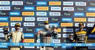 El sprint del TC 2000 se llevó a cabo este viernes en el autódromo de Buenos Aires y el paranaense, Exequiel Bastidas, se quedó con el segundo lugar.