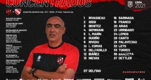 Patronato debuta en el Grella ante Independiente