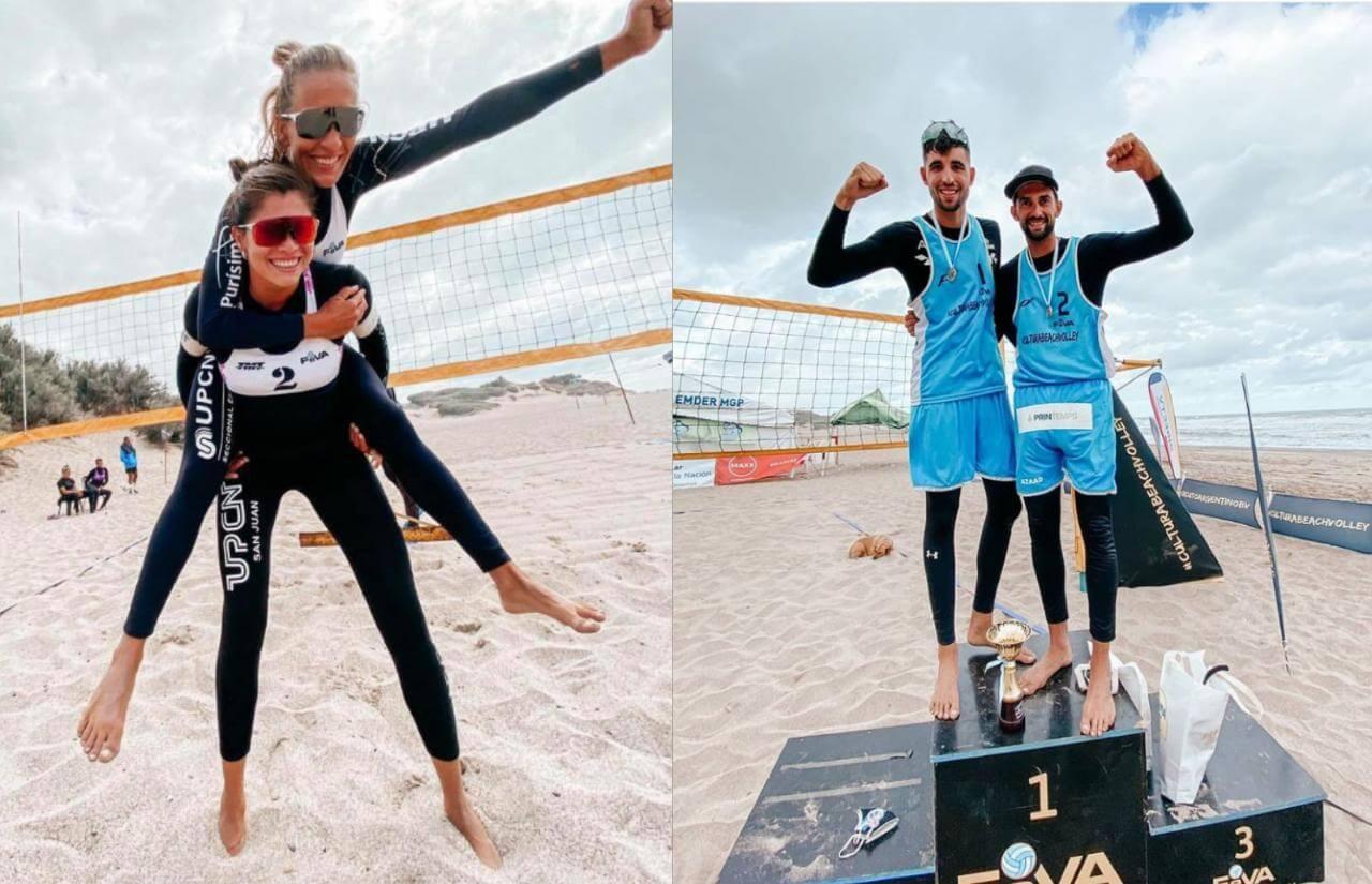 La sexta etapa del Circuito Argentino de Beach Vóley disputada en Rosario llegó a su fin y los entrerrianos se subieron nuevamente al podio. Ana Gallay se quedó con el segundo lugar, mientras que Julián Azaad obtuvo el título en la rama masculina.