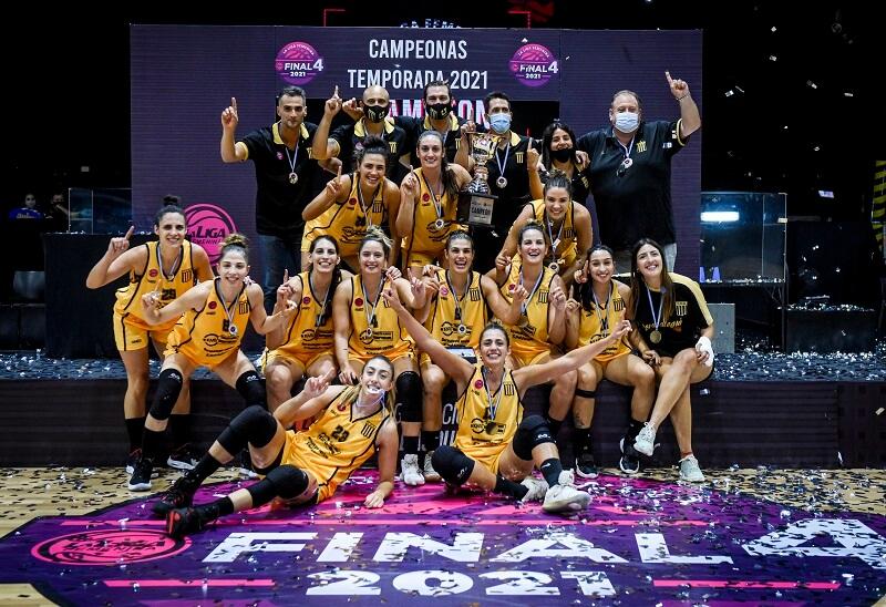 Rocamora, tercero en la Liga Femenina