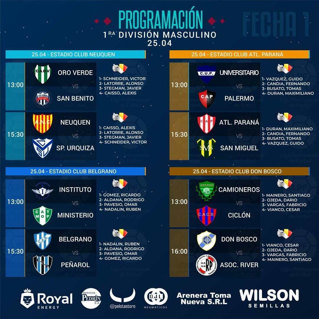 Este 24 y 25 de abril arrancará una nueva edición de la Liga Paranaense de Fútbol, después de una larga espera teniendo en cuenta que se pospuso por falta de documentación, exámenes médicos, entre otras cosas, por parte de los equipos. Darán comienzo las categorías masculinas y femeninas.