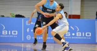 Echagüe perdió el primer juego ante Salta Basket.