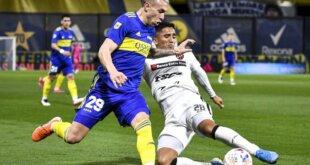 Patronato perdió 1 a 0 contra Boca de visitante.