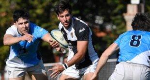 La acción del rugby del pasado fin de semana.